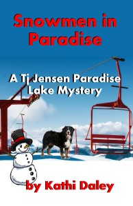 snowmen in paradiseskiliftpaperback